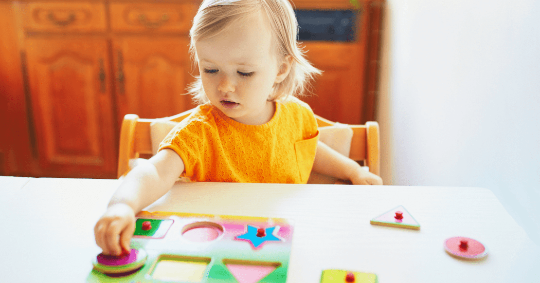 Entertain your toddler with puzzles
