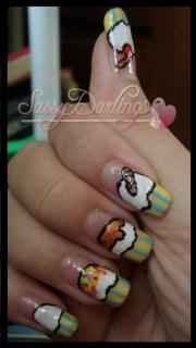 ice-cream nail art