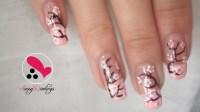 Gorgeous Cherry Blossoms!   Nail Art Love