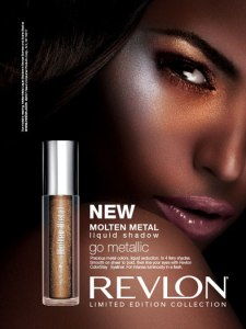 Eyeshadow Review Revlon Molten Metal Liquid Shadow Ad
