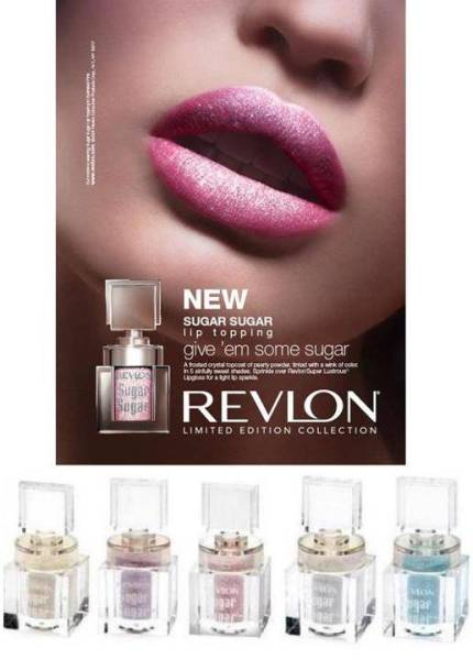 Lip Makeup Review Revlon Sugar Sugar Lip Topping