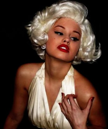 Debby Ryan Jessie Marilyn Monroe Halloween Makeup Seven Year Itch