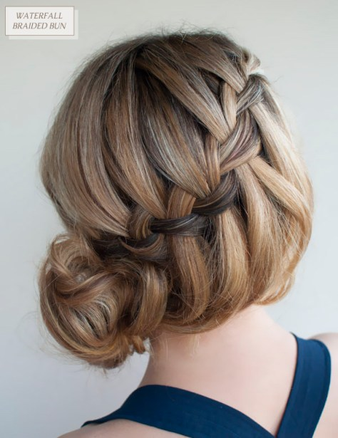 Hairspiration Hair-Romance-30-braids-30-days-21-the-waterfall-messy-braid-bun