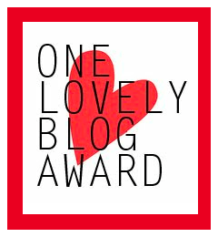 One-Lovely-Blog-Award Beauty Blog Sassy Dove