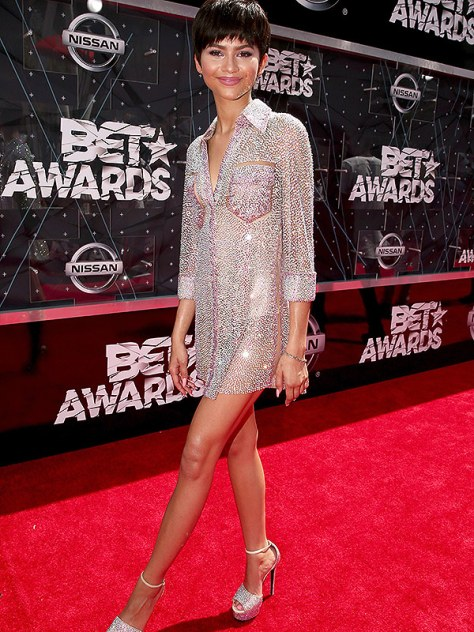 bet awards 2015 zendaya haircut