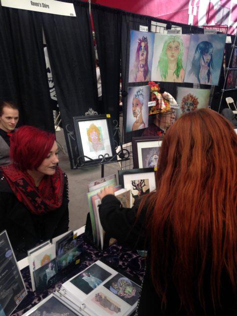 Emmalaine Wright and Cailin Koy at Phoenix Fan Fest