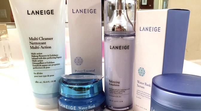 Laneige Target Skincare Line Review