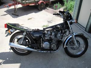 1978 KZ650 B1 Rebuild progress