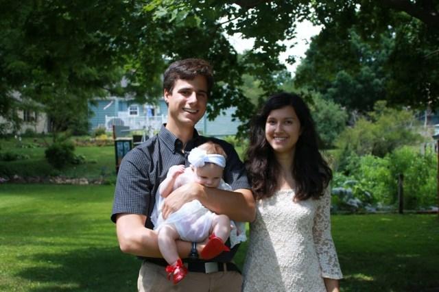Godfather, Amelia, and Ellie