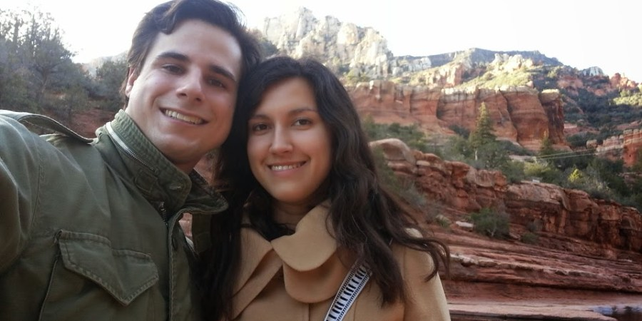 Danny & Ellie at Slide Rock