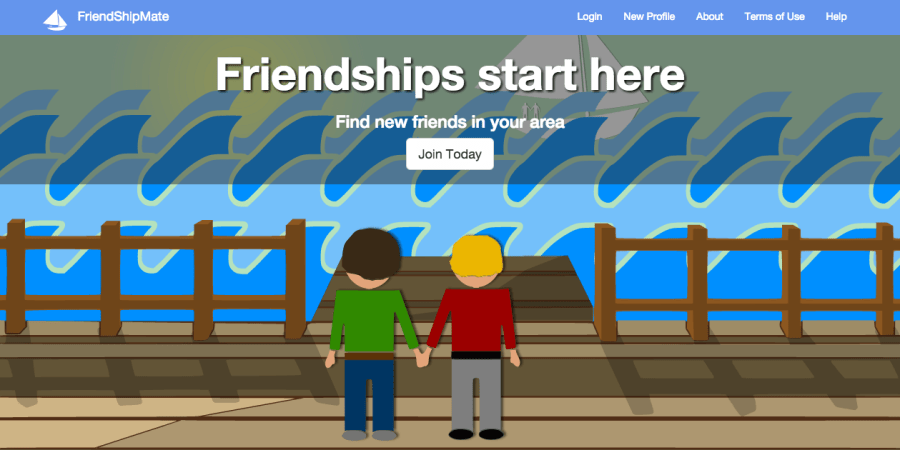 FriendShipMate - The place to meet friends!