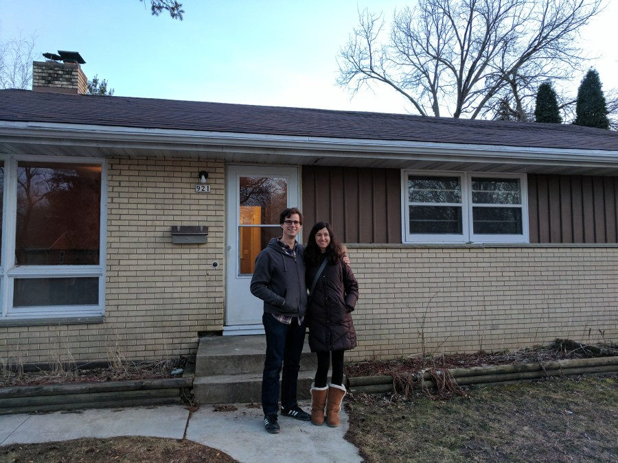 Danny and Ellie, New Homeowners