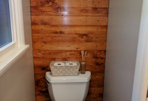 Toilet room - New wall