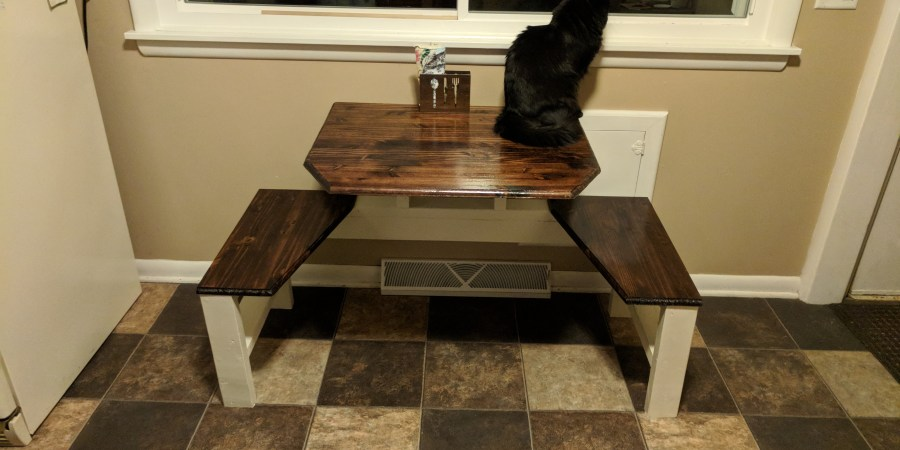 Two-person Kitchen Table Build 3
