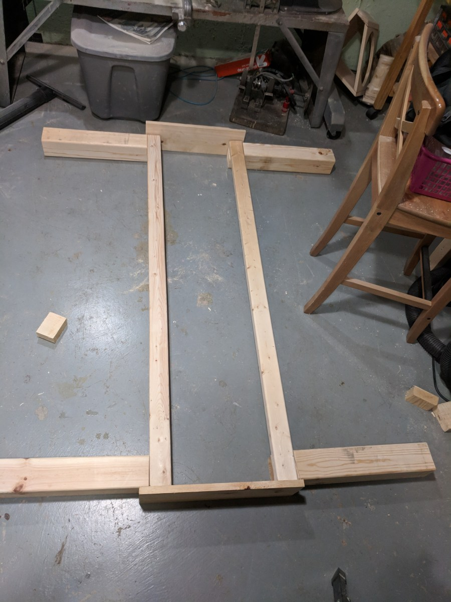 ShopSmith 10ER Legs Layout