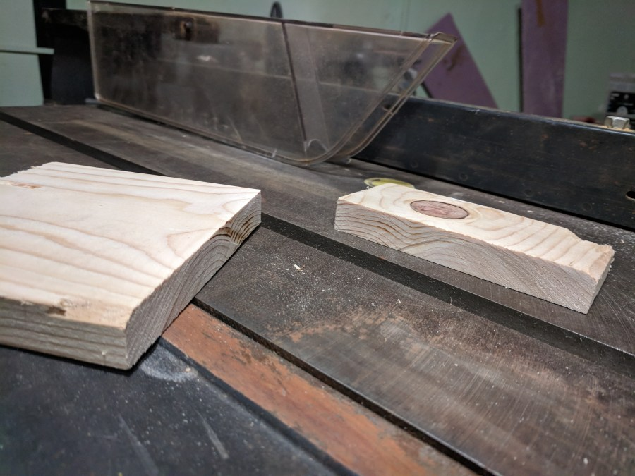 Craftsman Table Saw First Cut