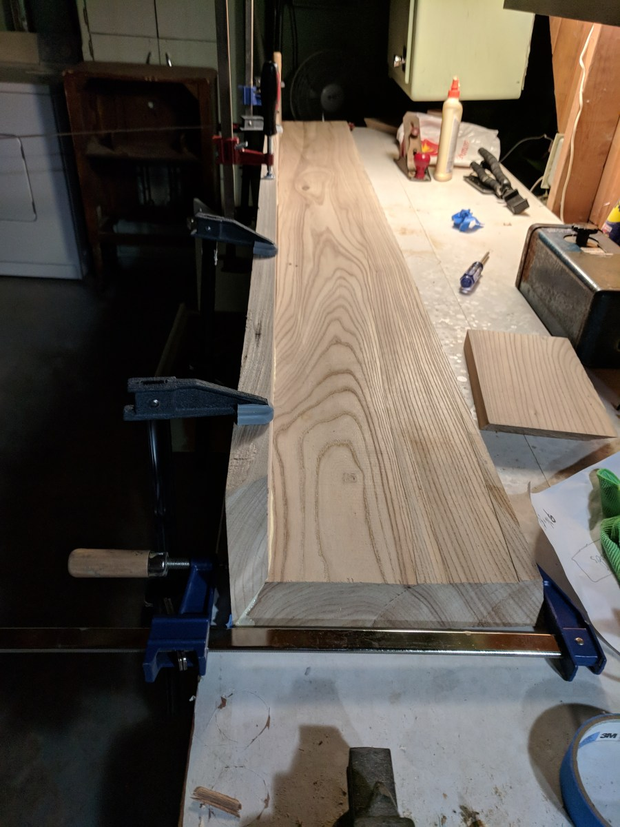 Mantle Clamping Glue-Up