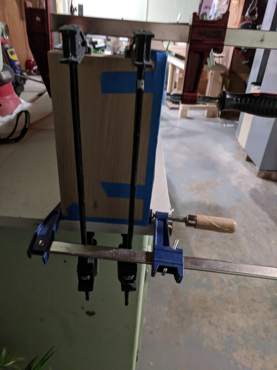Mantle Glue-Up Side Clamp