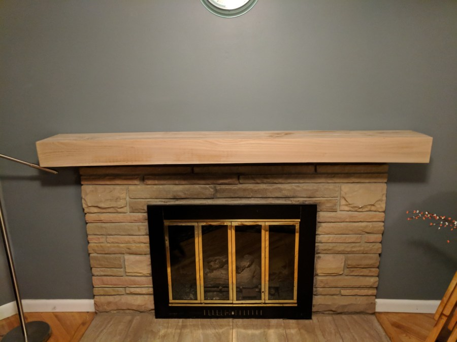 Mantle Test Fit