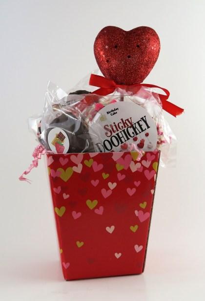 Mini Hearts Basket