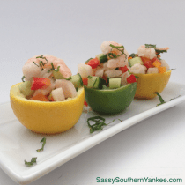 Easy Shrimp Ceviche from Sassy Southern Yankee