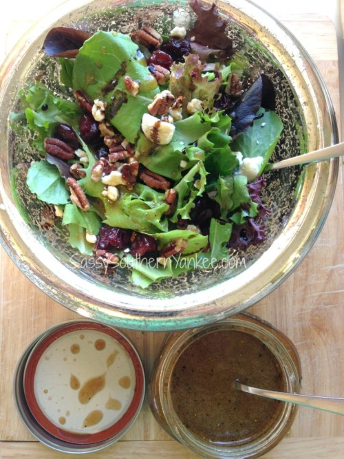 Harvest Salad with Cider Balsamic Dressing 2