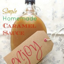Simple Homemade Caramel Sauce 2