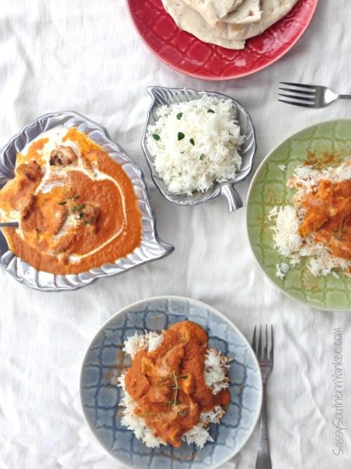 Chicken Tikka Masala Dinner