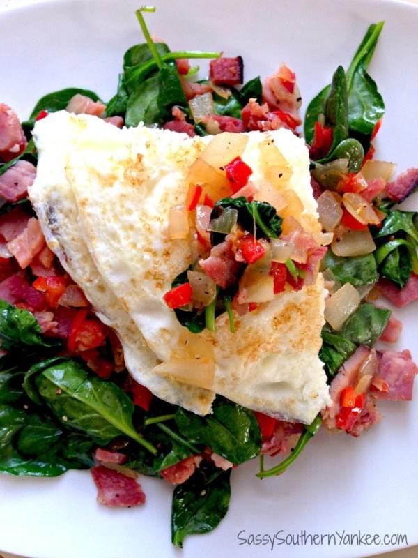 Inside-out Western Omelette 3