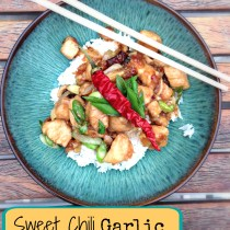 Sweet Chili Garlic Honey Chicken 4