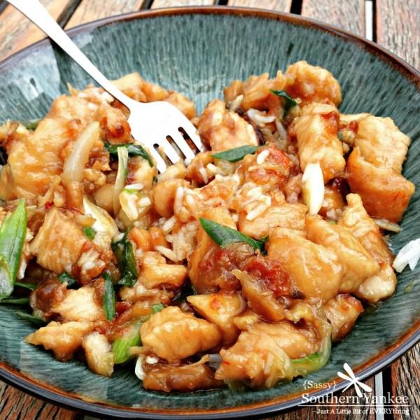 Sweet Chili Garlic Honey Chicken 7