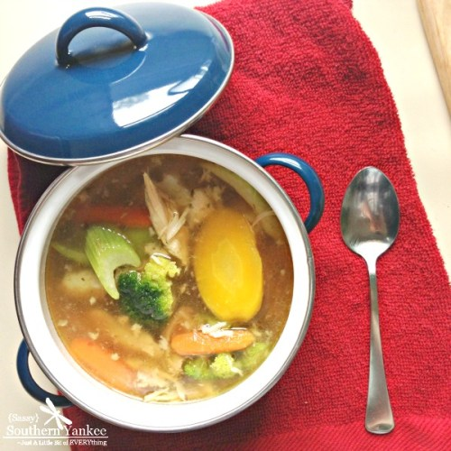 The Best Crock Pot No Noodle Chicken Soup 5