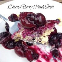 Cherry-Berry Peach Sauce 3
