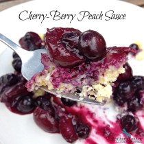 Cherry-Berry Peach Sauce 3