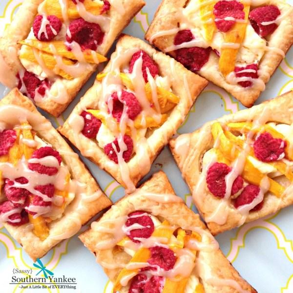 Raspberry Mango Cream Cheese Danish 3