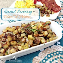 Roasted Rosemary & Olive Oil Potatoes 4
