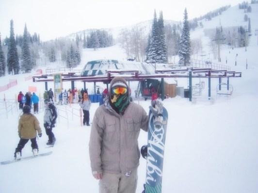 Struan Snowboarding 2008