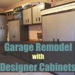 Transform Your Garage With Designer Cabinets