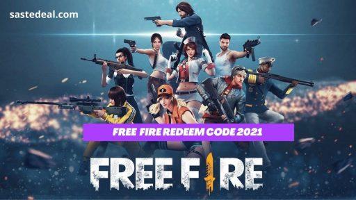 Free Fire Redeem Codes 2021