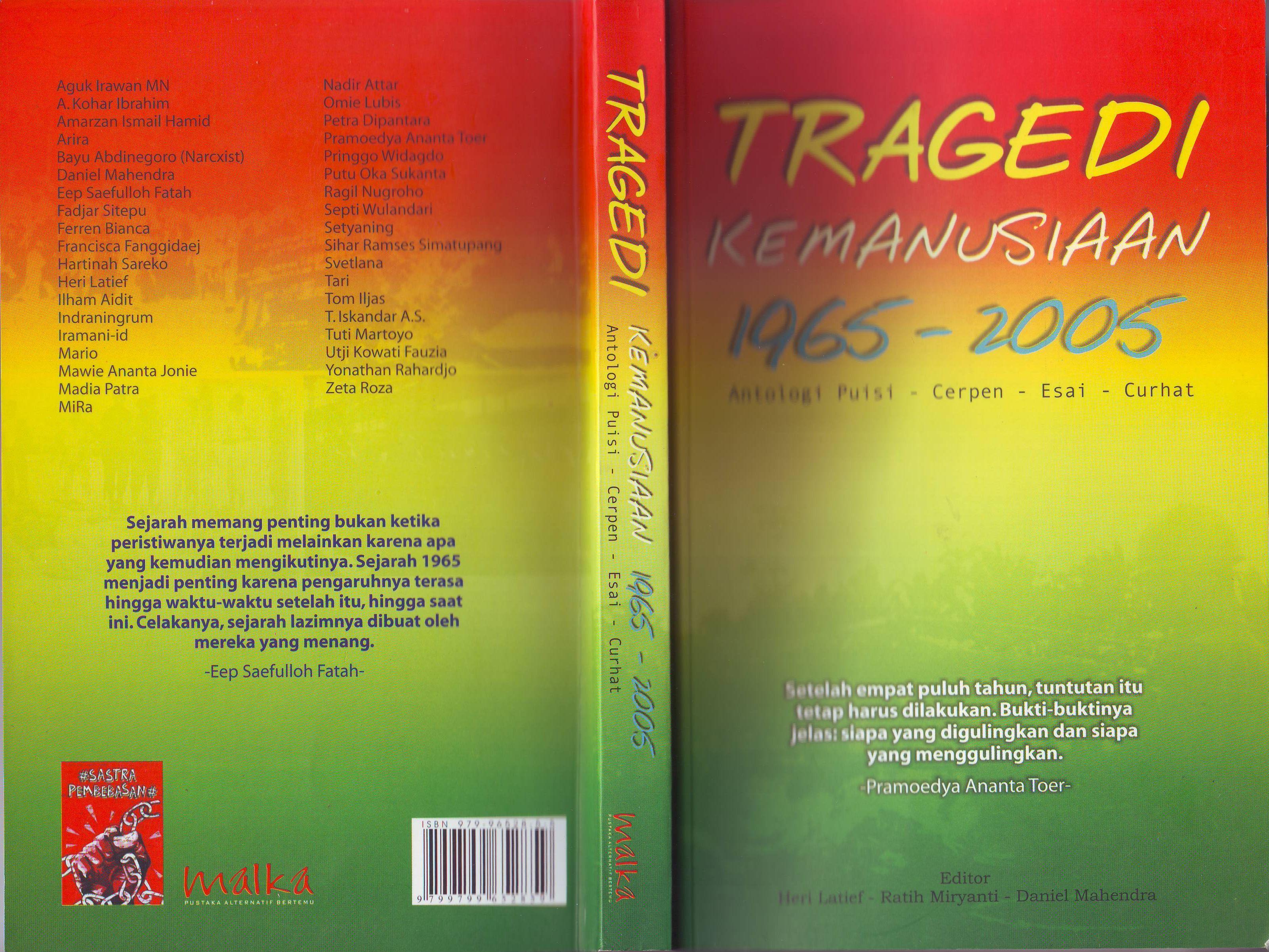 Hasil gambar untuk Tragedi Kemanusiaan 1965-2005