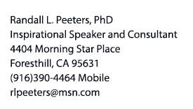 Randy Peeters contact information