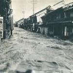 呑川の氾濫