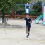 家族4人で出場予定、宮島クロカンで子供たちと勝負出来そうです