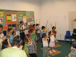 Children performing in SASS Recital