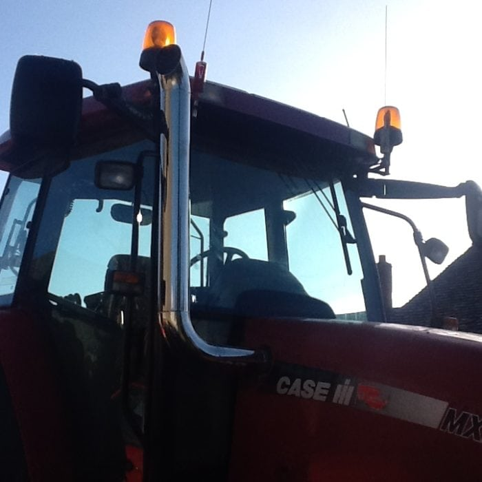 stainless steel tractor exhaust stack