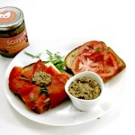 11Image of smoked salmon sandwich with Sasya Peanut Spread