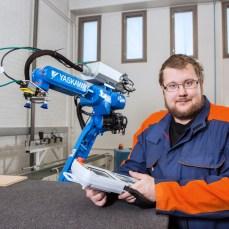 Kone- ja tuotantotekniikka. Robotti.