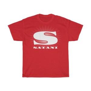 Satani Logo Heavy Cotton Tee