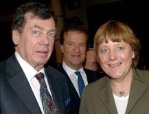 إدغار برونفمان مع أنجيلا ميركل