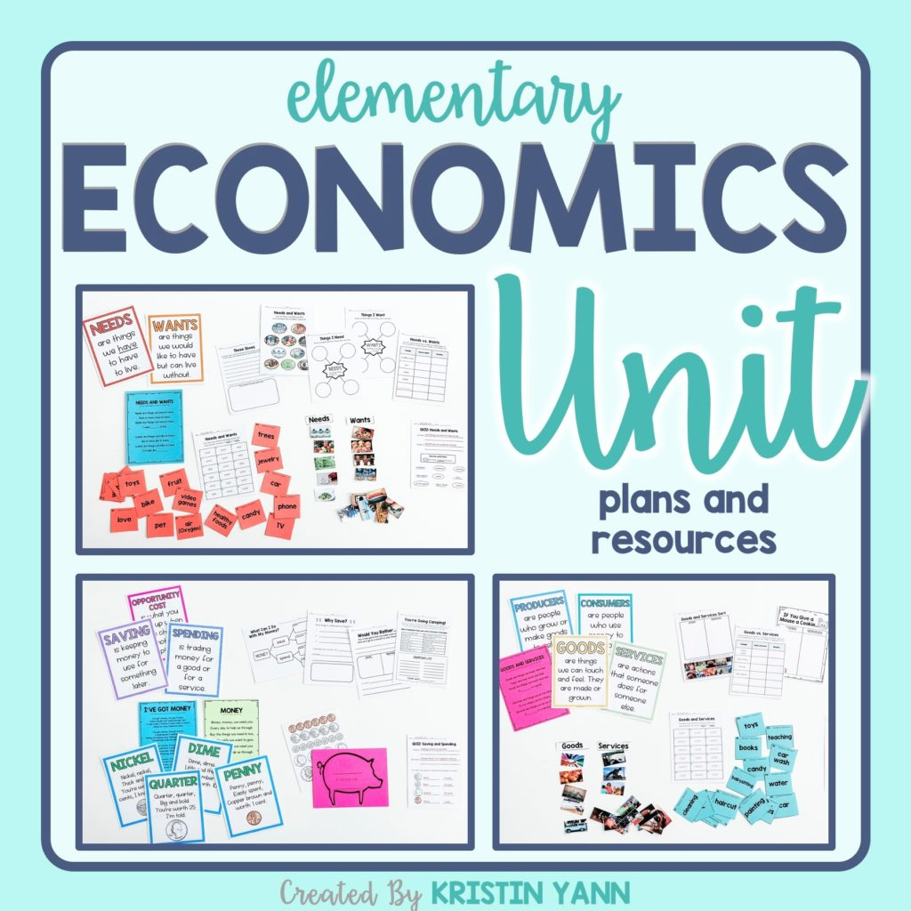 hight resolution of How Do I Teach ECONOMICS to 2nd Graders? - School and the City